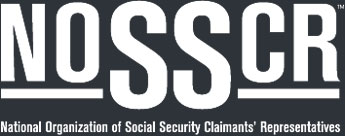 NOSSCR - National Organization of Social Security Claimants Representatives