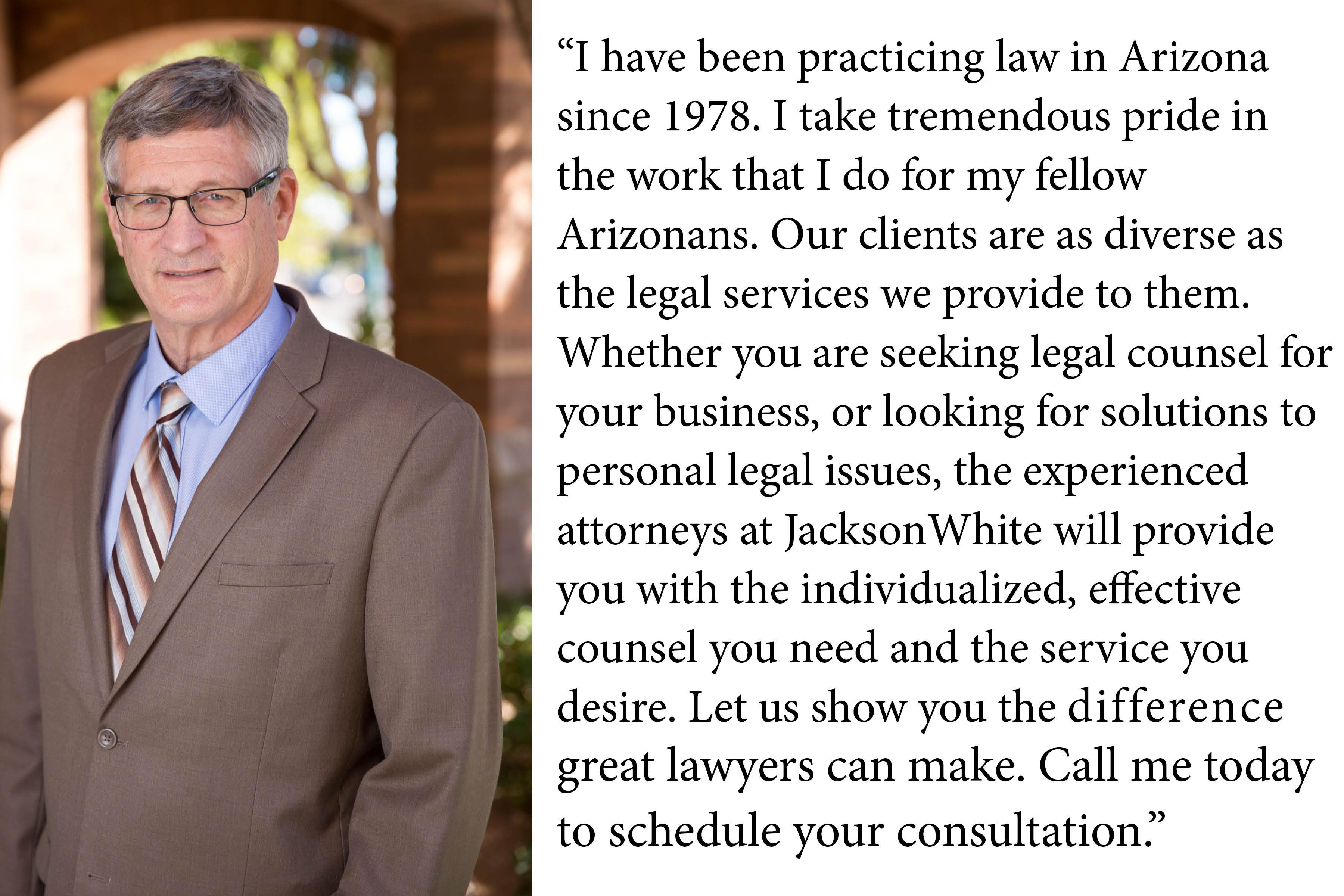 Eric Jackson Payson Lawyer